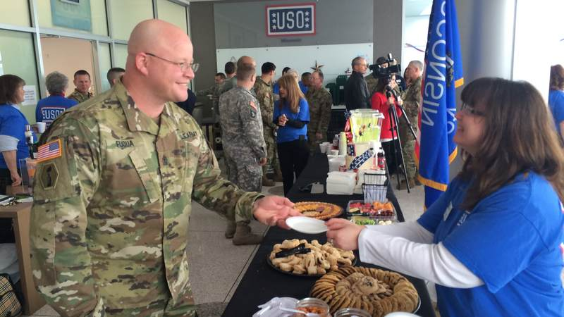 On February 4th, the USO's 75th anniversary, USO Wisconsin opened a center at the La Crosse Regional Airport.