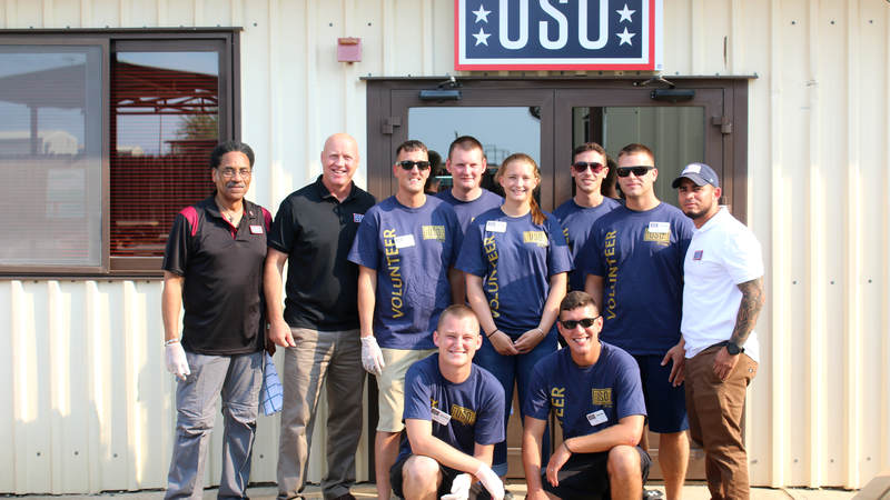 The USO center on Incirlik Air Base in Turkey opened its doors to troops earlier this month.