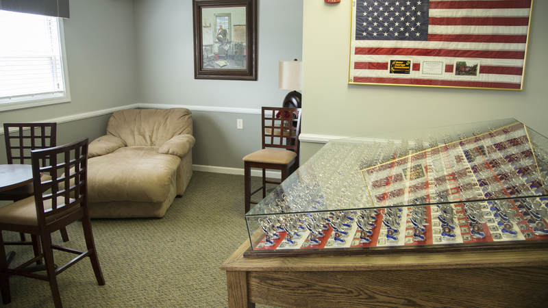 The Beirut room at USO North Carolina - Jacksonville.