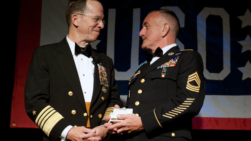 the background summary of chief master sargent barness awards and achievements