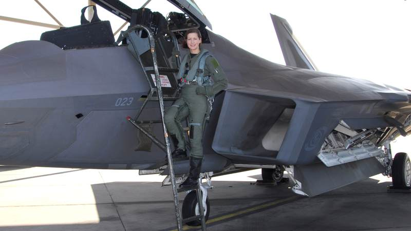 In 2008, Air Force Capt. Jammie Jamieson became the first female fighter pilot to qualify in the F-22A Raptor.