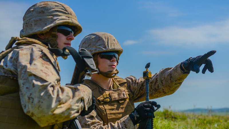 Second 2nd Lt. Virginia Brodie and 2nd Lt. Katherine Boy made Marine Corps history in 2016 when they became the service's first female artillery officers. Brodie, of Manhasset, N.Y., graduated at the top of her Basic Officer Leader Course class and Boy ranked sixth out of 137.