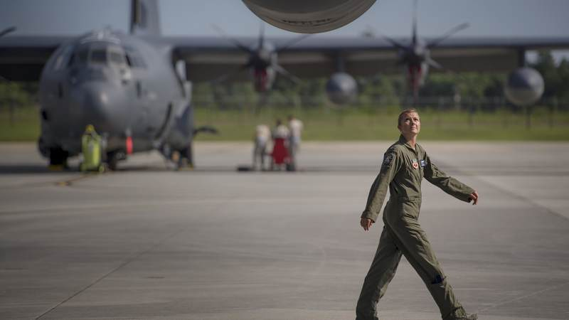 Air Force Capt. Christy Wise became the first female amputee to regain her wings when she was medically cleared in 2016. Wise, who was injured when she was hit by a boat while paddle boarding, endured 15 months of rehabilitation, learning to walk, run and fly again.