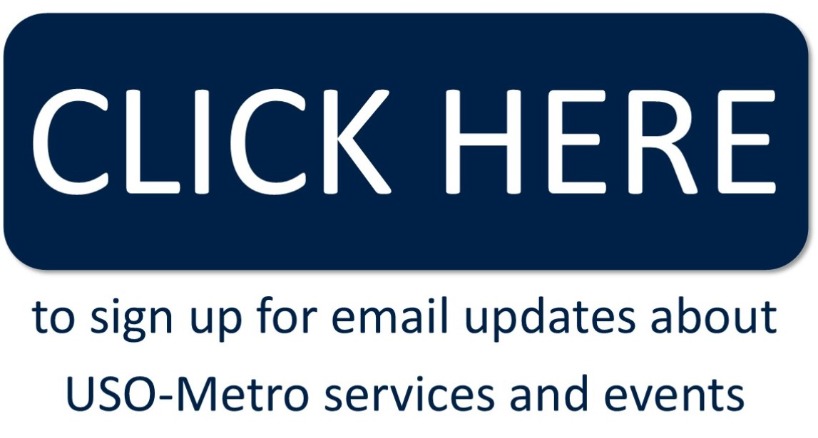 Sign Up for Email Updates from Your USO Center • USO of