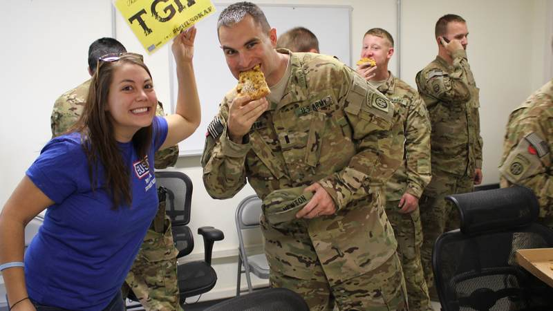 At the USO, the tastes of home are never too far away -- even if you're stationed in Kandahar, Afghanistan.