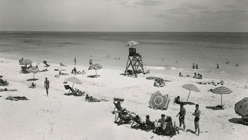 Elbow Beach, Bermuda, 1944.