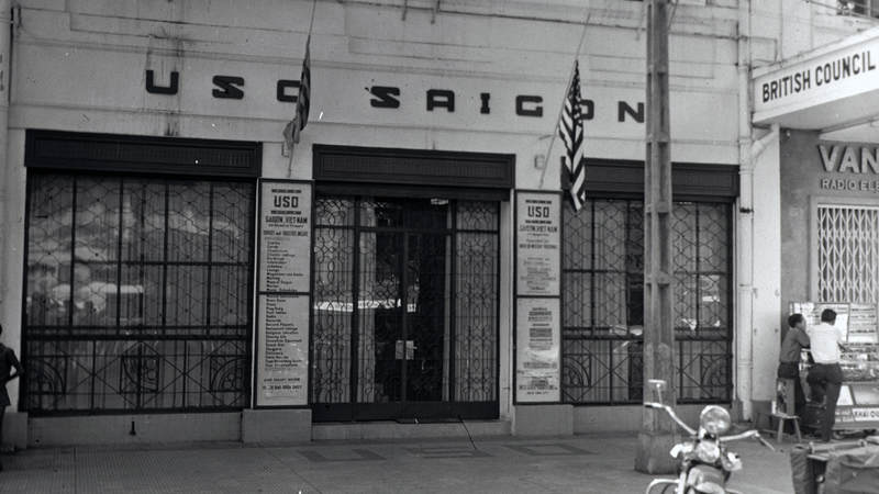 USO Saigon center on Flower Street, circa 1963.