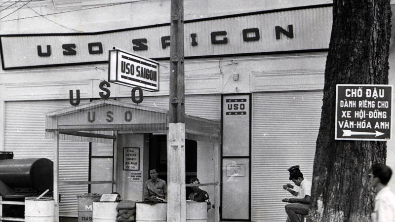 USO Saigon center on Flower Street, circa 1967.