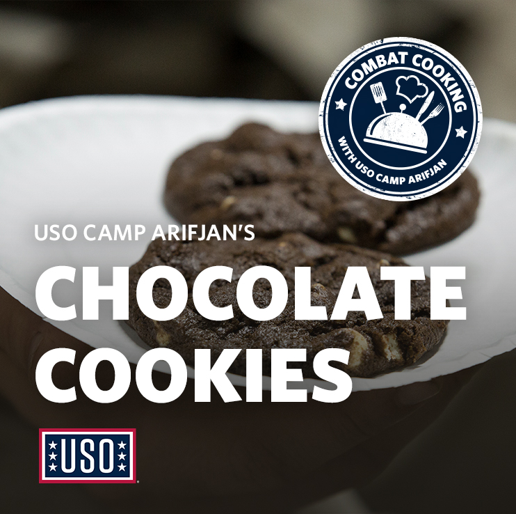 USO Camp Arifjan's Chocolate Cookies