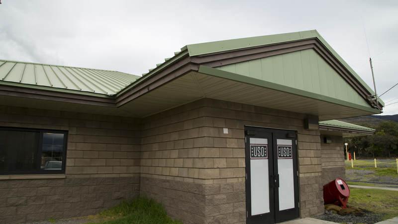 The USO Center at Pohakuloa Training Center, Hawaii.