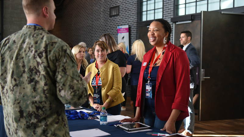 Military families enjoyed a free performance by Florida Georgia Line and Adam Devine during the World's Biggest USO Tour, a live entertainment experience at The Anthem in Washington, D.C., Sept. 12, 2018, bringing the USO mission to life and paying tribute to service members around the world.
