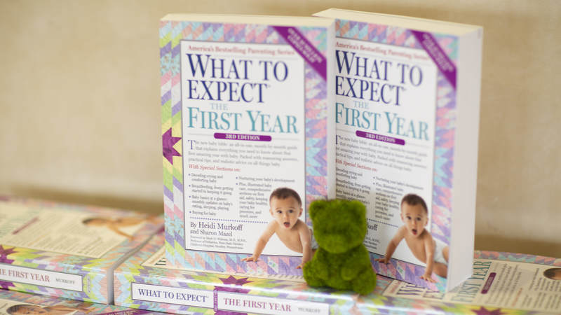 """Each attendee received a signed copy of a """"What to Expect"""" book and a gift card for Target, which began sponsoring the program in 2017."""