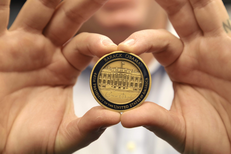 Barack Obama challenge coin