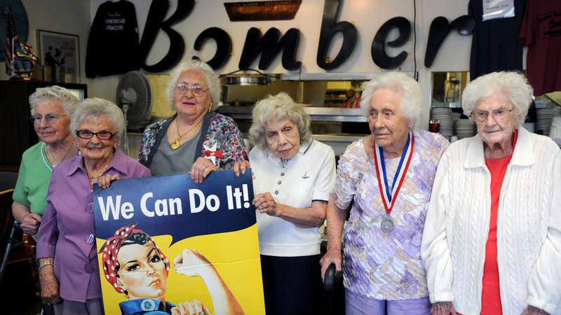 Rosies Kept America Running During World War Ii United Service